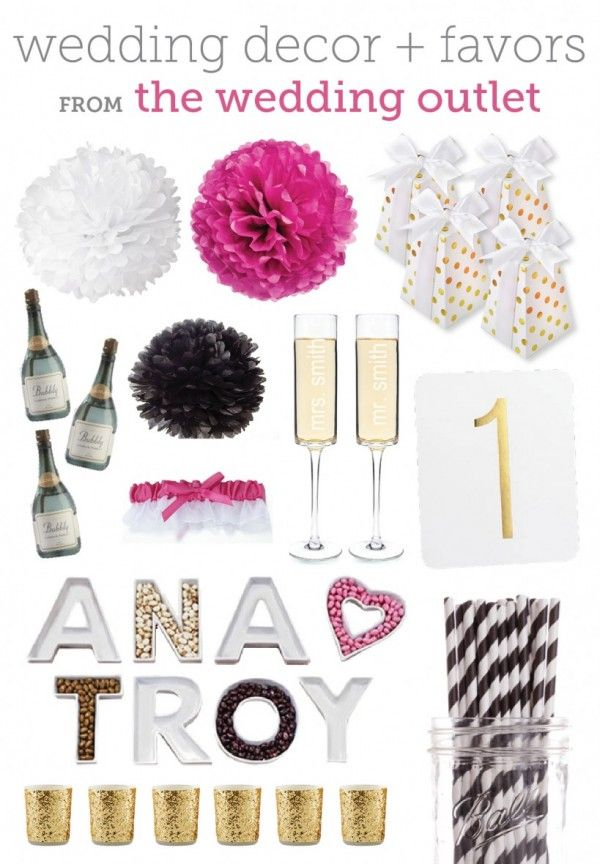 Wedding Inspiration And A Giveaway From The Wedding Outlet The Budget Savvy Bride Wedding Outlet Bridal Shower Inspiration Kate Spade Bridal Shower Theme