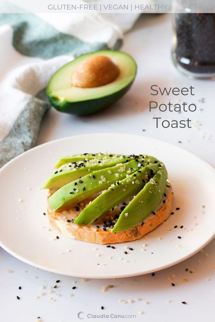 Sweet Potato Toast Sweet Potato Toast - Making sweet potato toasts is ridiculously easy and since t