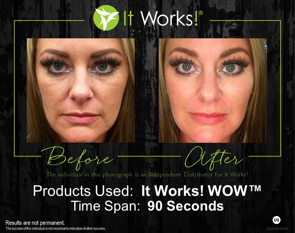 It Works Wow Wipes Out Your Wrinkles In 45 Seconds You Will Start To Feel It Working And In 45 More Secon It Works Distributor It Works Products My It Works