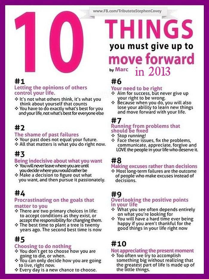 10 Things To Consider That Will Guarantee A Great 2013 Infographic