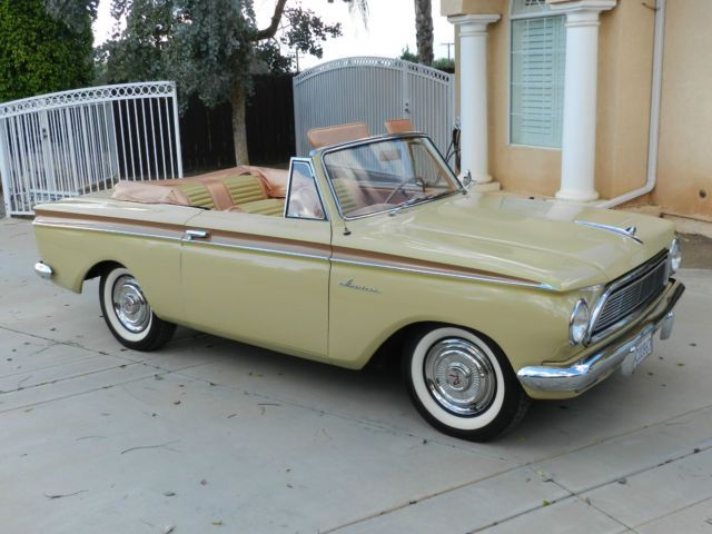 1962 American Rambler 400 Convertible Beautiful Chrysler Cars
