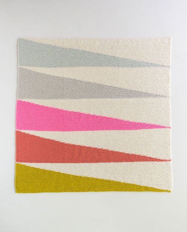 Colorful Wedges Baby Blanket   Knitting   Pinterest   Manta, Chal y ...