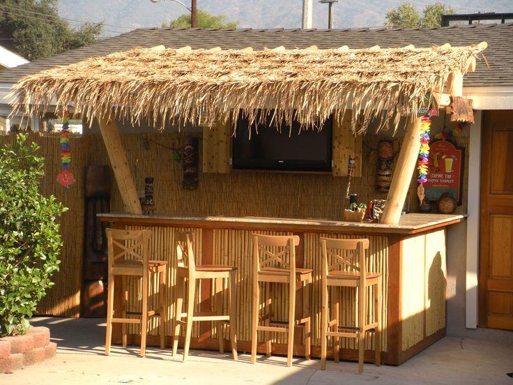Northside Villa Rental   Full Tiki Bar And Outdoor Kitchen | Tiki Room  Ideas | Pinterest | Tiki Bars, Bar And Villas