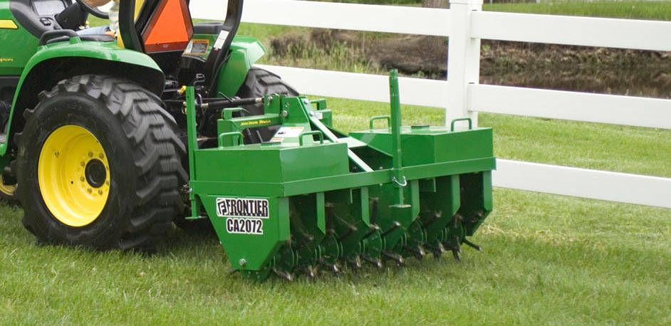 When S The Best Time To Aerate Your Lawn Our Blog The Temple