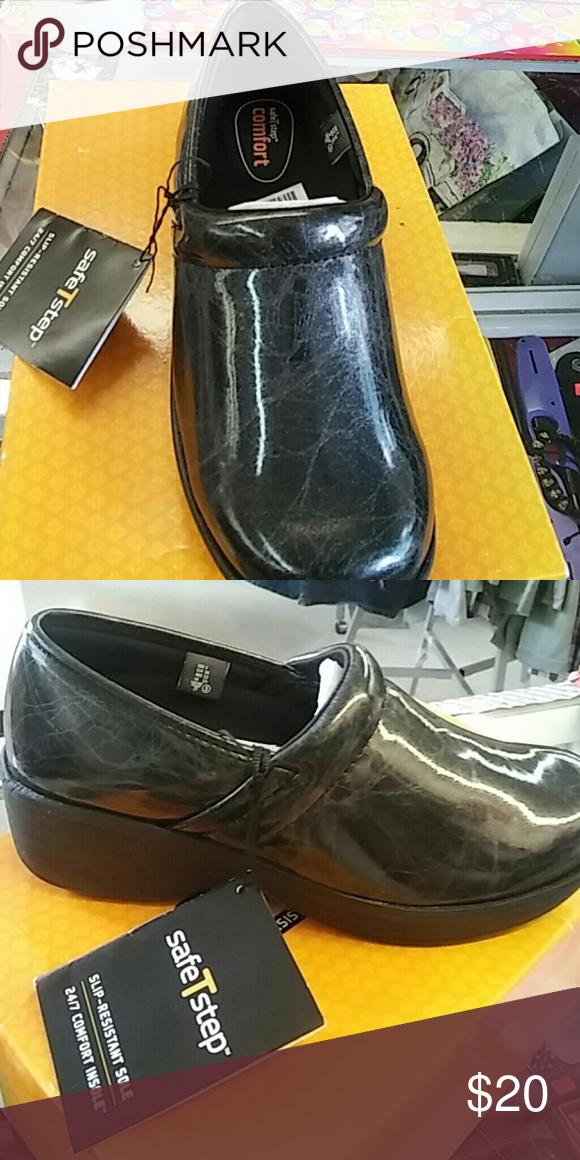 New safe T step shoes Slip resistant sole gretchen clog sabo