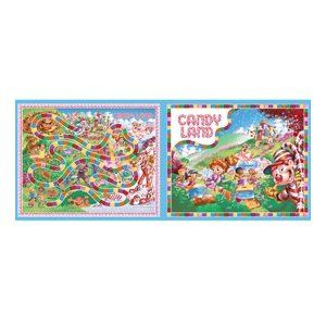 Candyland Game Board Cotton Fabric Craft Panel