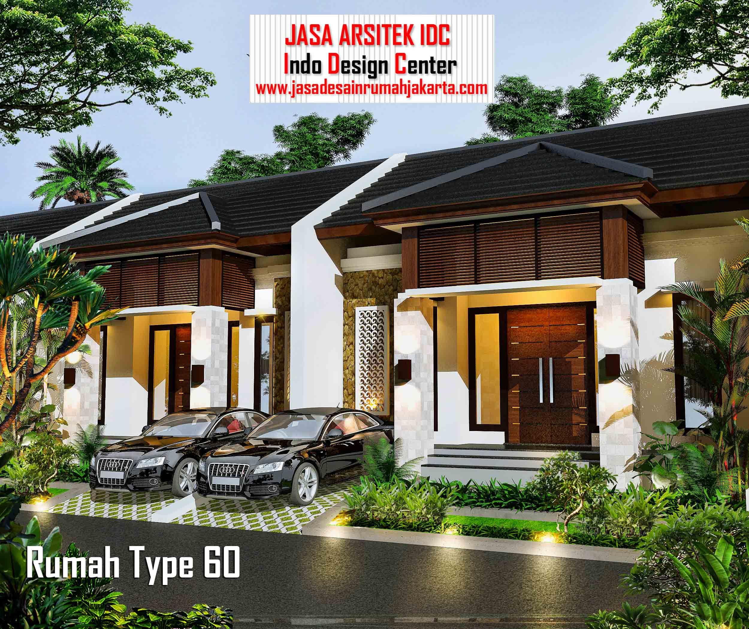 Desain Model Rumah 60 Meter