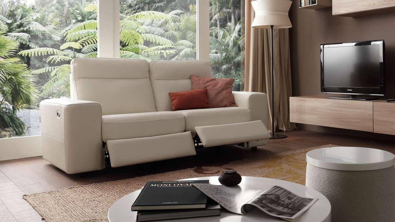 sofá tapizado en piel de chateau d'ax. modelo lucent. estructura ... - Puffoletto Chateau D Ax