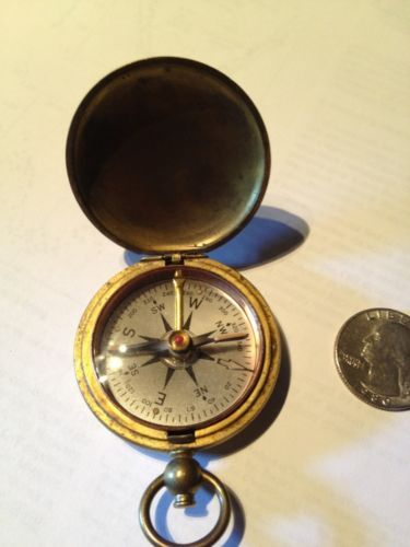 Antique Taylor Usce Brass Compass Wwii Or Wwi United States Corps Engineers Ebay Accessories Pocket Watch
