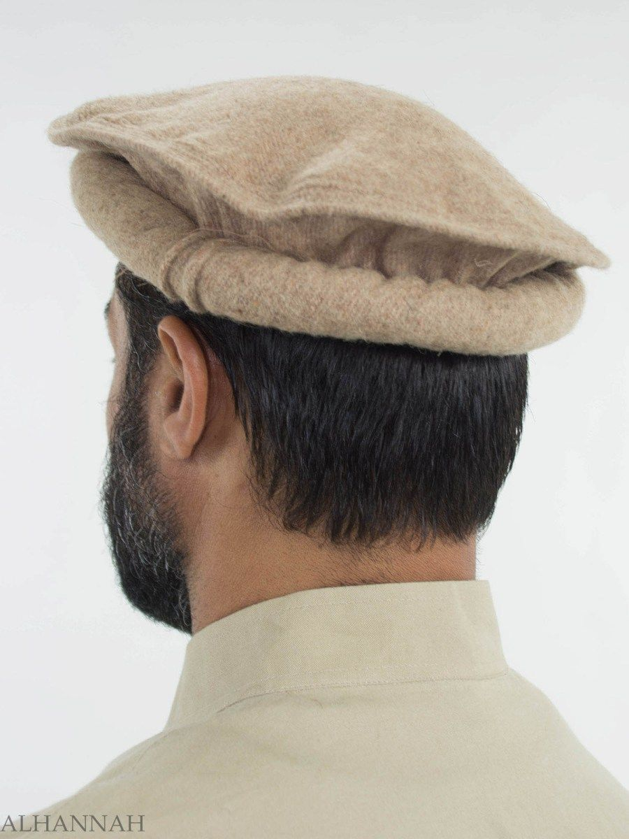Traditional Wool Pakol me440 Muslim Men 7257636942