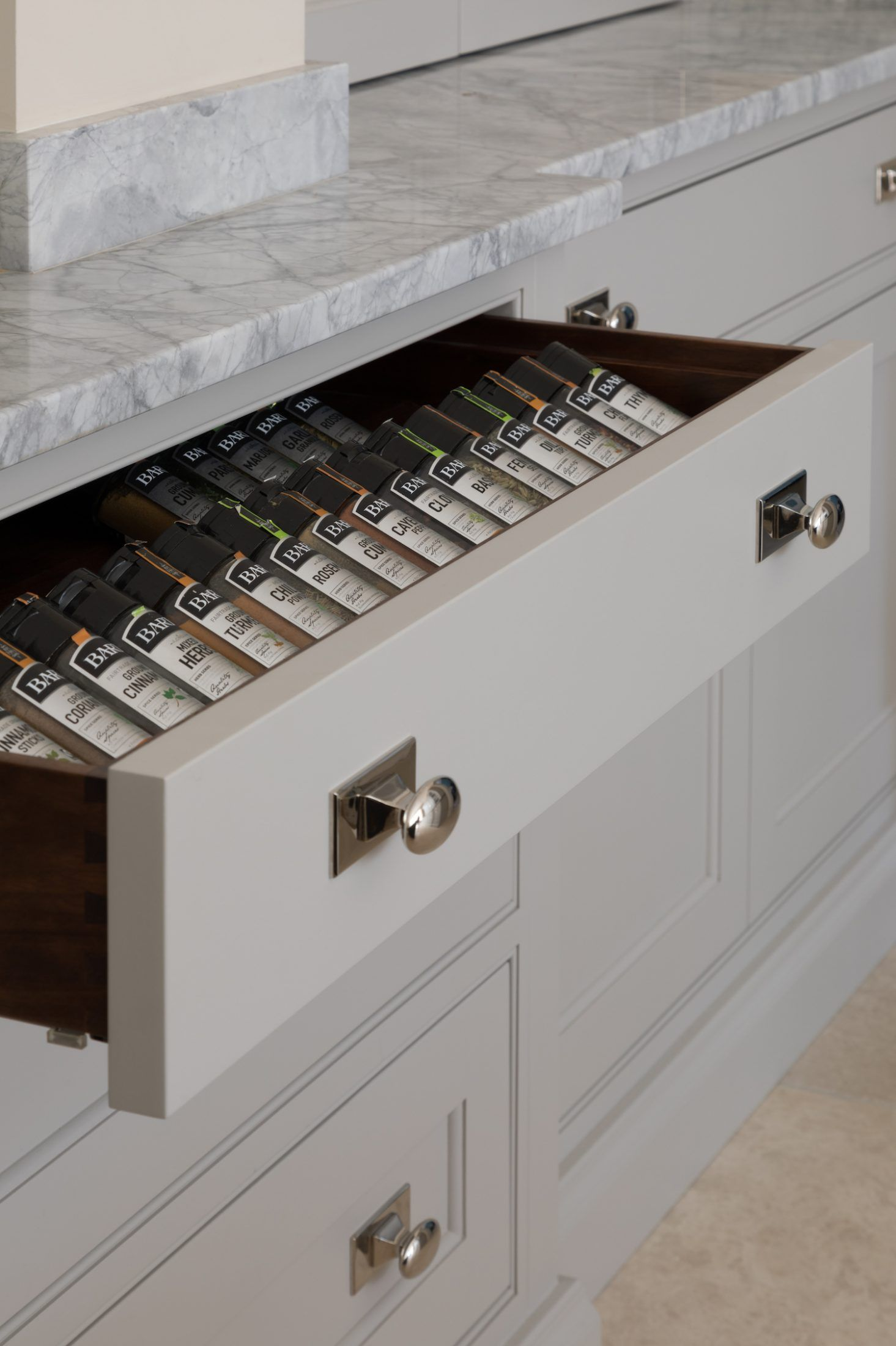 Spice Drawer Smart Kitchen Storage Solutions Humphreymunsonblog Smart Kitchen Kitchen Storage Solutions Kitchen Dining Room Combo