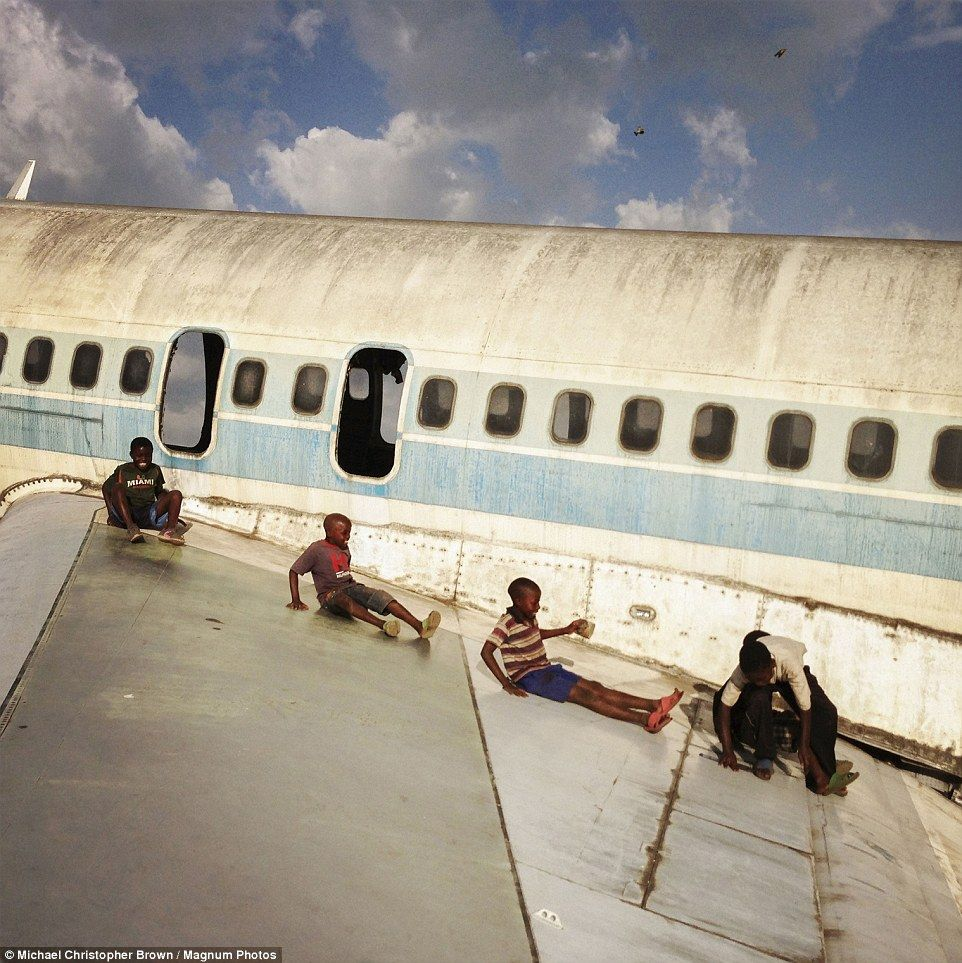 Abandoned Airport Transformed Into Playground For Street