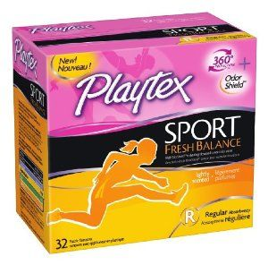 Playtex Sport Fresh Balance Tampons I received these complimentary from @Influenster for testing purposes #GoVoxBox