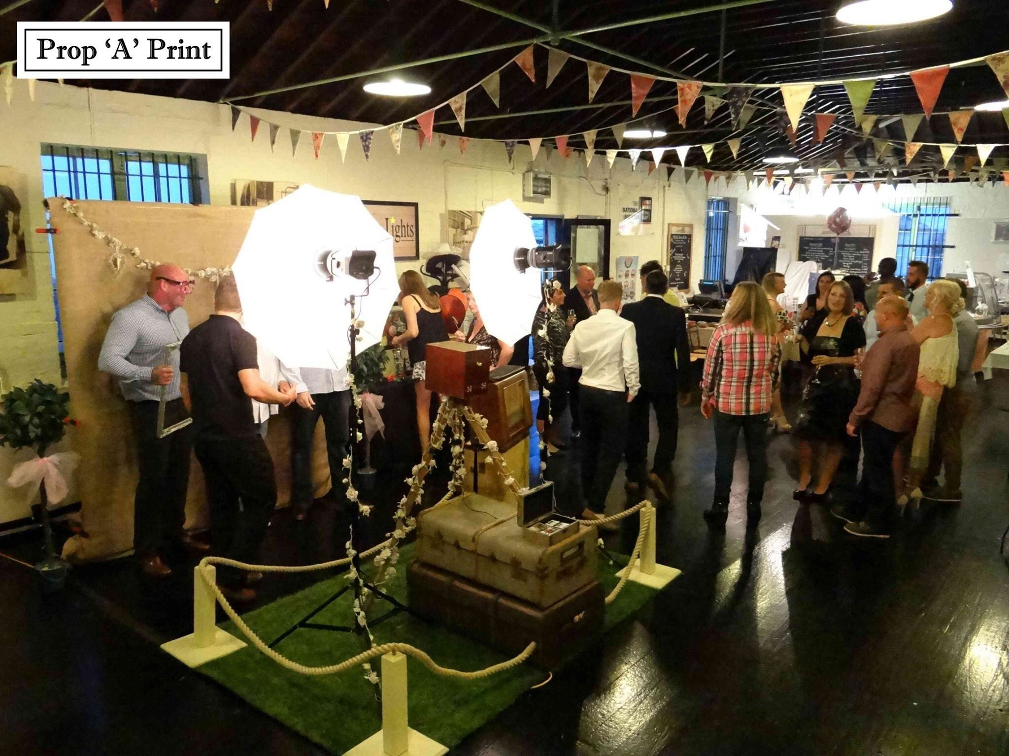 wedding photo booth props printable%0A Our Vintage Photo Booth in full swing at Explosion  Gosport  Photo Booth  Hampshire