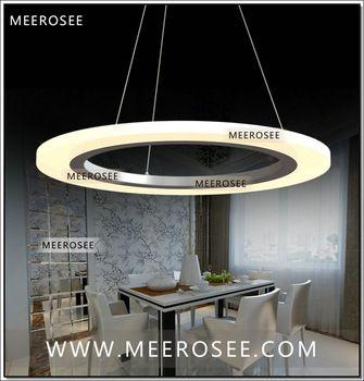 Moderne Acryl Ring Geleid Cirkel Kroonluchter Lamp Licht Armatuur Smd 5050 Mode Ontwerper Led Hanglamp In Verlichtingsarmaturen Hangende Lichten Kroonluchter