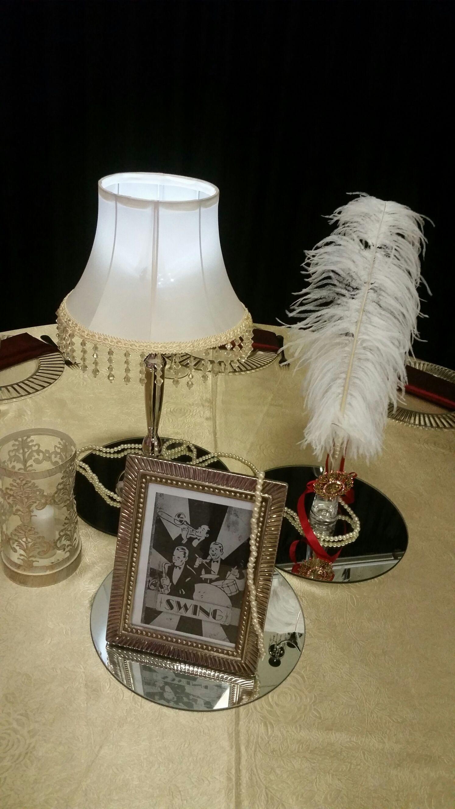 Centrepiece Sa Wedding Decor 1940s Theme Pinterest