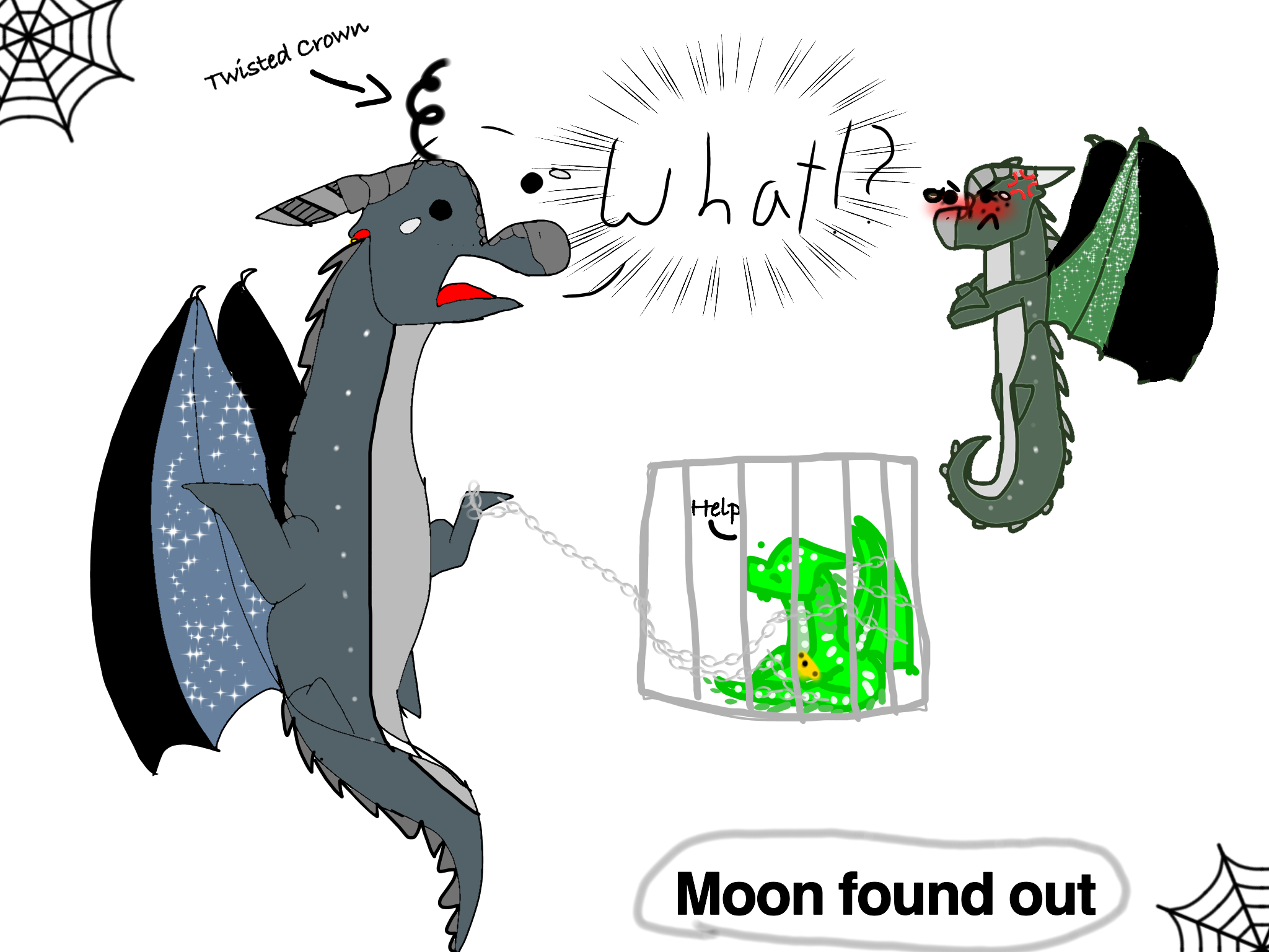 Moon Found Out Wings Of Fire Dragons Wings Of Fire Wings