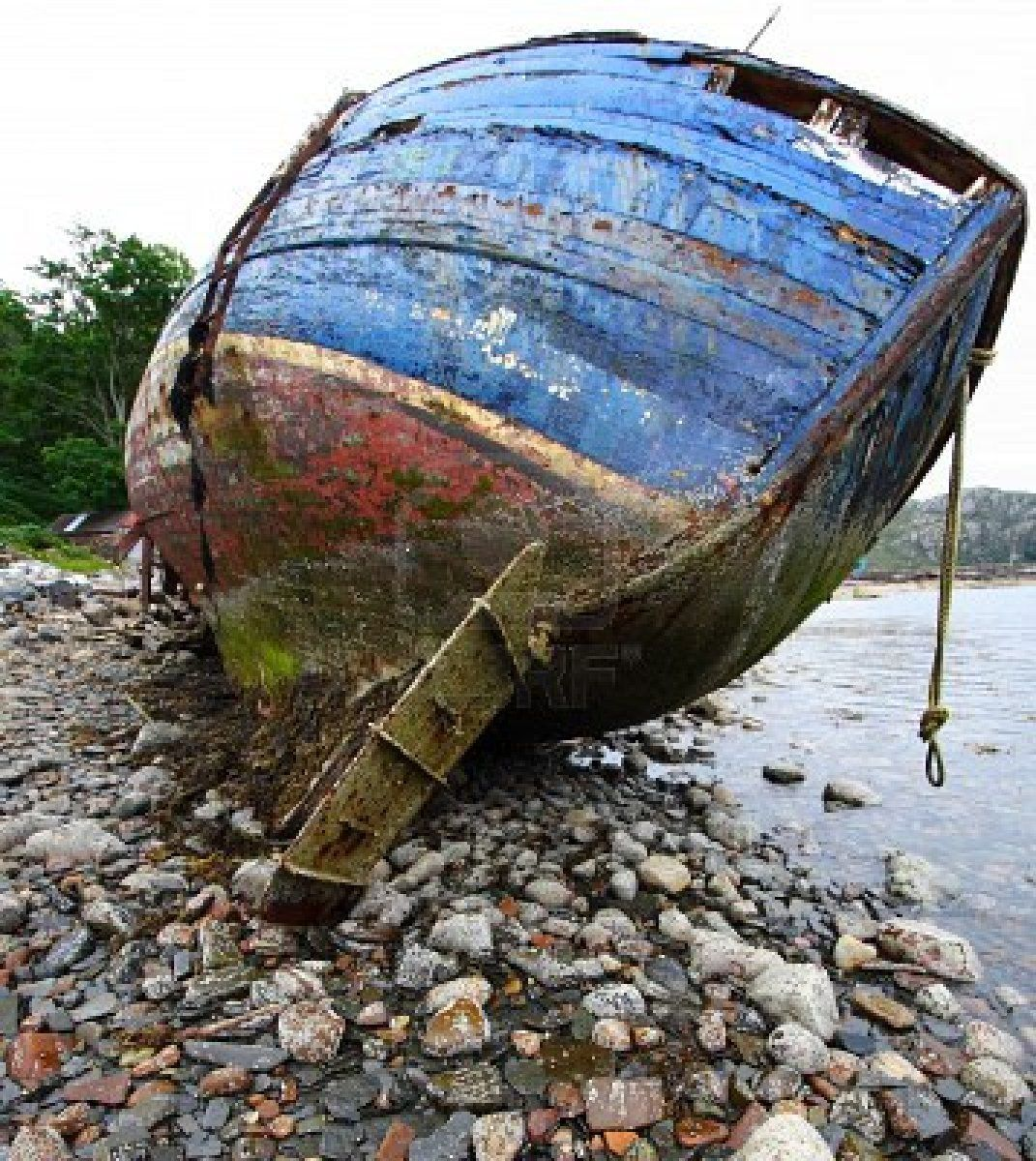 Old Fishing Boats On Beach: Old Boats, Abandoned Ships, Boat