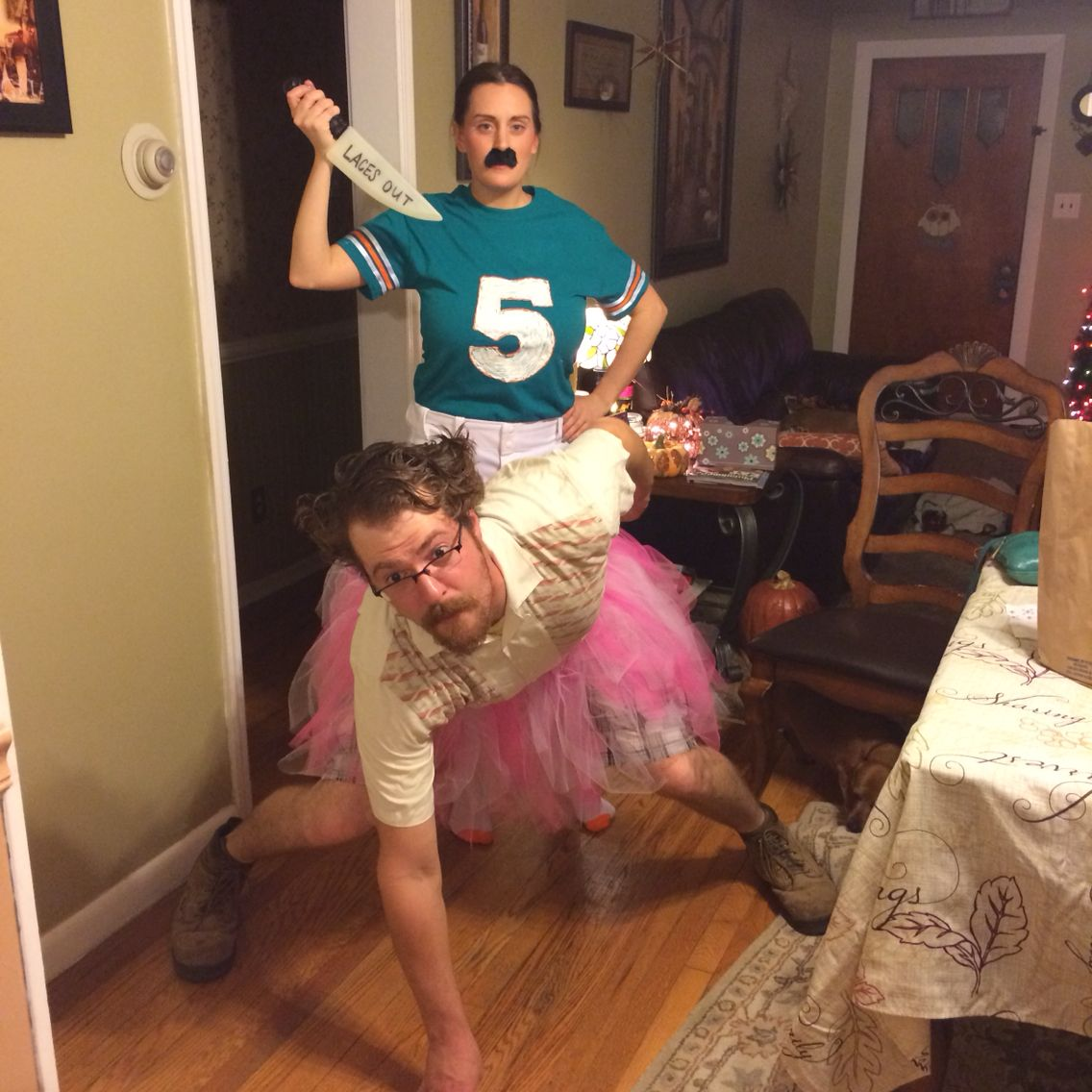 ace ventura and ray finkle. diy halloween costume