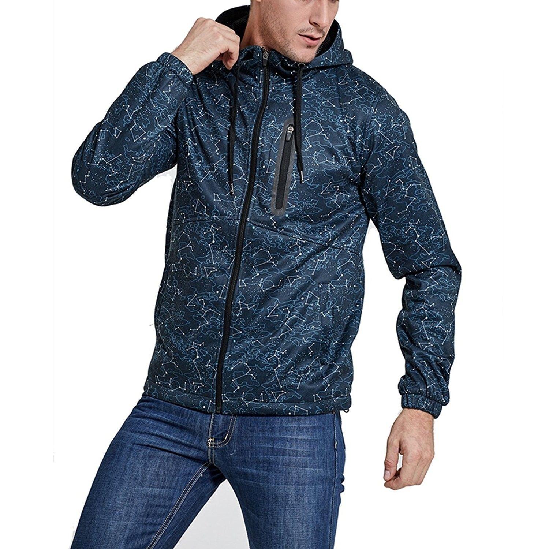 Men S Outdoor Travel Full Zip Hoodie Jacket Athletic Camping Outwear Coat Graphic Hoodie S Xl Blue Cu1899isu6l Outwear Coat Mens Outerwear Jacket Graphic Hoodies [ 1500 x 1500 Pixel ]