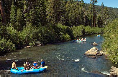 Truckee River Rafting Truckee River Tahoe Trip Lake Tahoe Summer