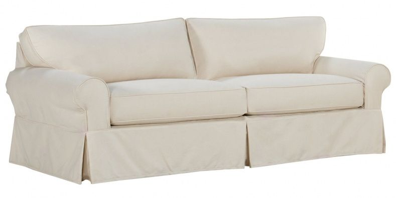 Slipcovers For Oversized Sofas Slip Covers Couch Slipcovered