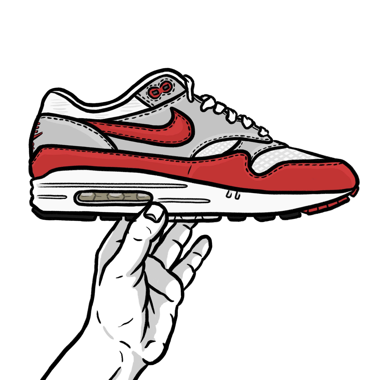 Air Max 1 OG illustration #sneakerart #daleillustration