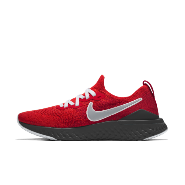 Nike Epic React Flyknit 2 By You Custom Men S Running Shoe Nike Shoes Mens Running Mens Nike Shoes Custom Running Shoes