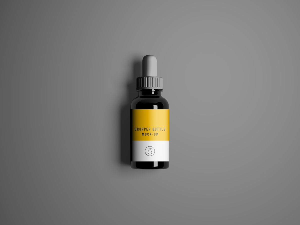 Free Dropper Bottle Mockup - PSD on Behance | mockups