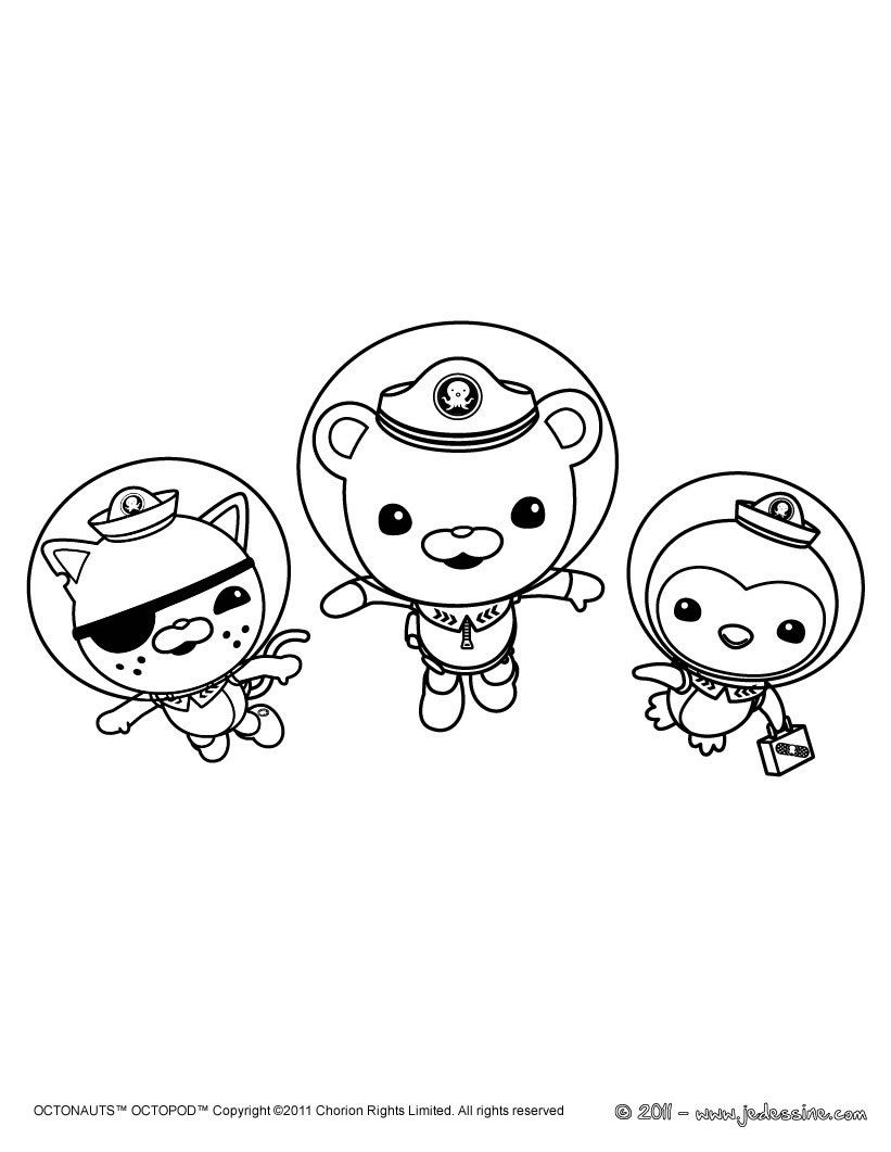 Octonauts Kwazii Coloring Pages | Coloring pages to print | Pinterest