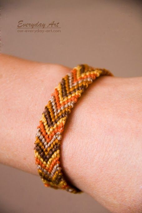 Knotted Friendship Bracelet Instructions By Everyday Art Future