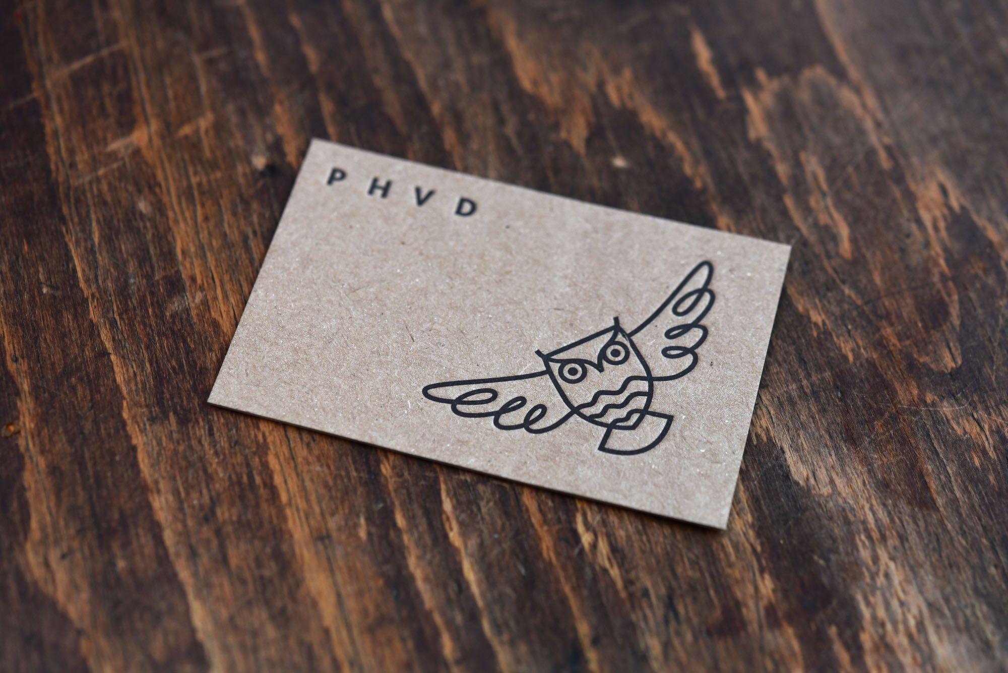Letterpress Visitenkarten Für Www Phvd Ch Gedruckt Auf