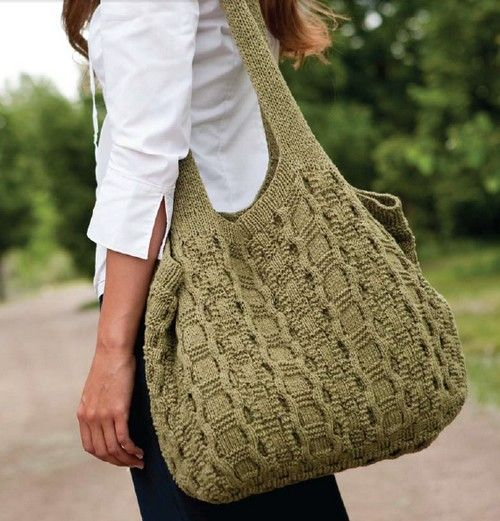 Knitted Bag Patterns : http://www.liveinternet.ru/users/olhinka/post232713684/ Scroll down, its...