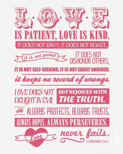 1 Corinthians 134 8 Proud To Be A Christian Love Quotes