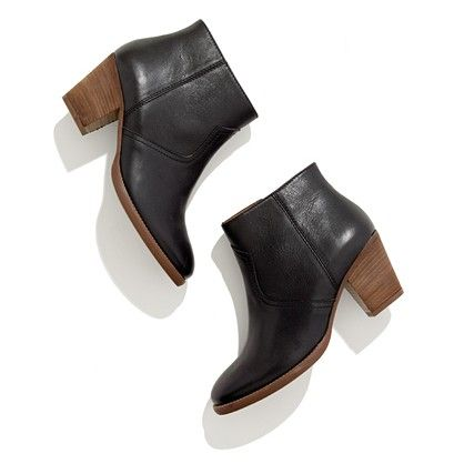 Madewell zipcode boots. I want it to be fall so bad I'm already shopping for ankle boots.