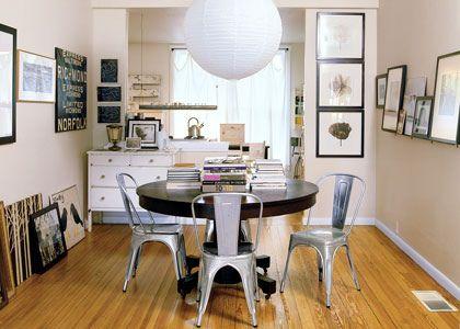 Galvanized Steel Chair   Best Interior Decorating Ideas