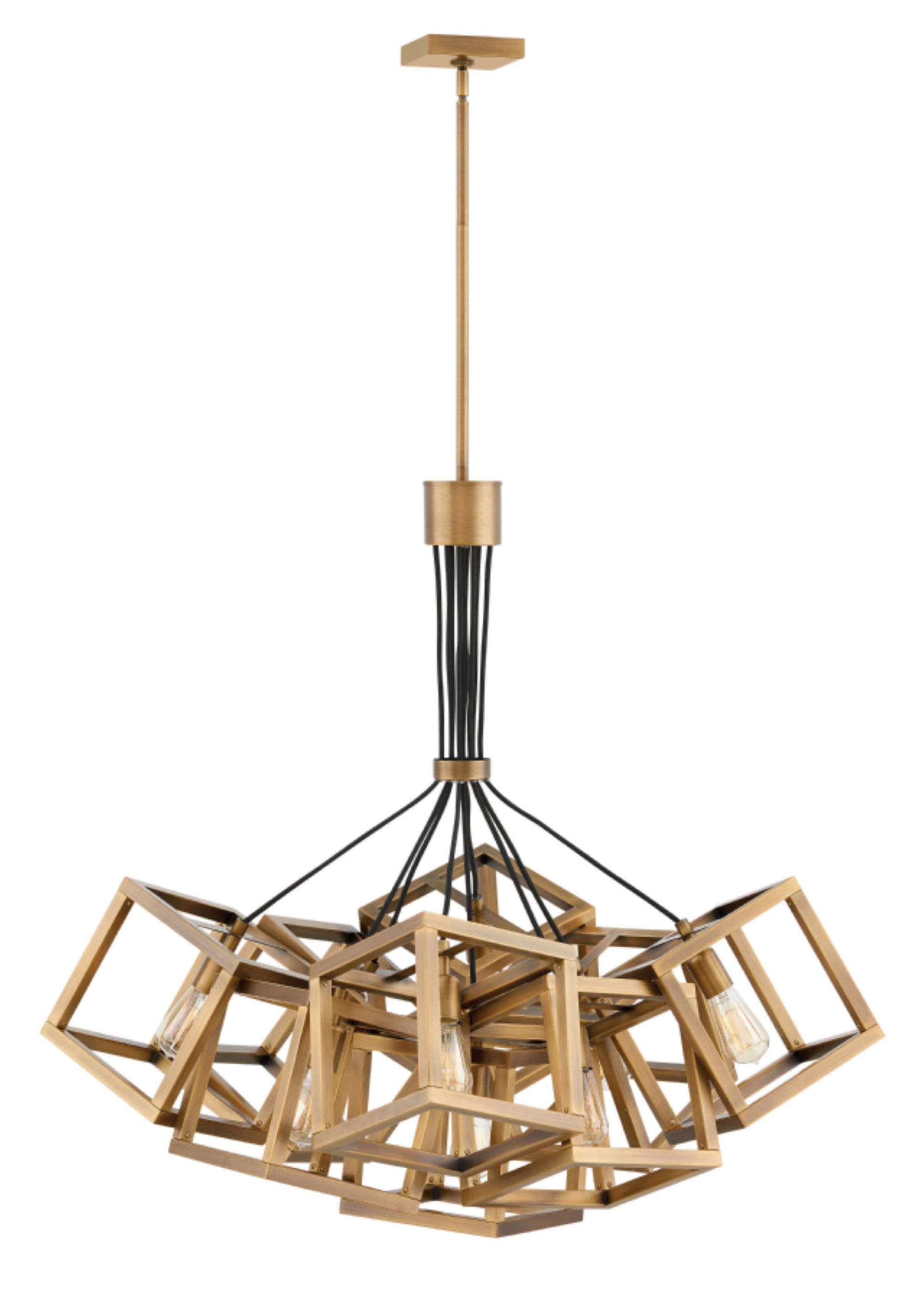 Hinkley Lighting Carries Many Brushed Bronze Ensemble