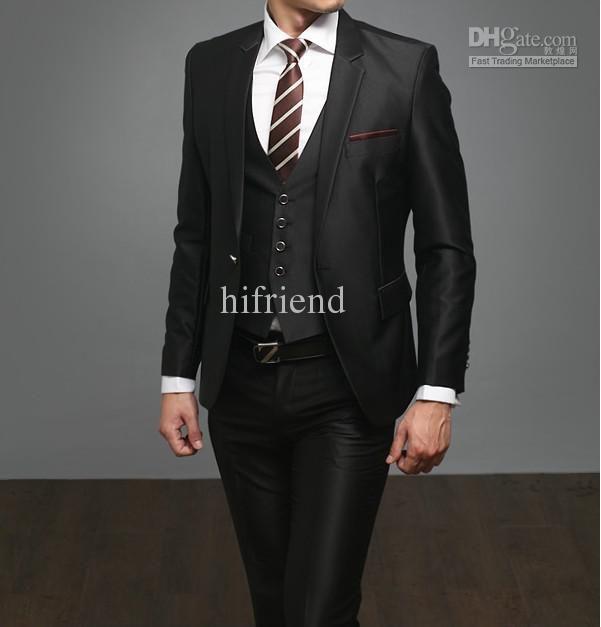 Whole Suits Tuxedo Custom Made High Quality Black Men S Wedding Western