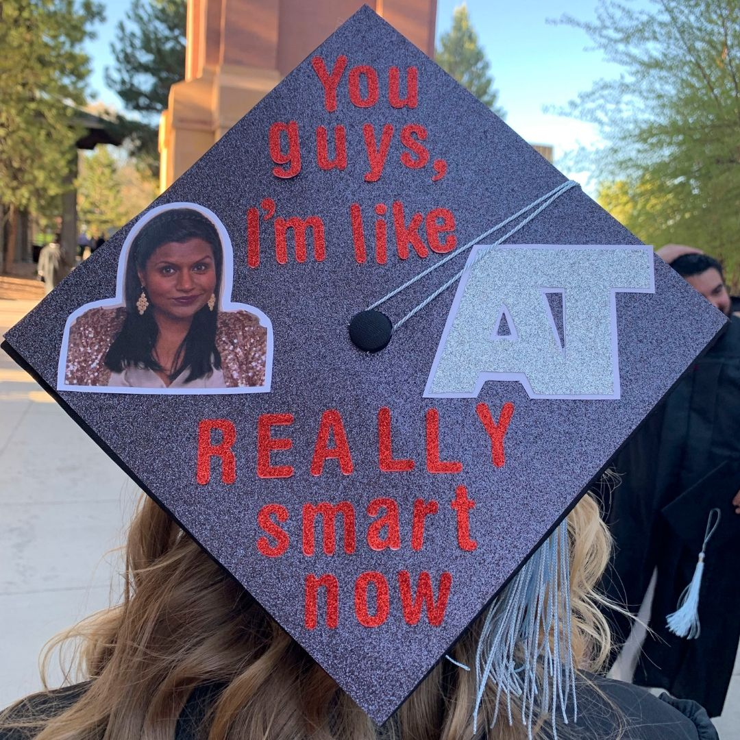 The Office Grad Cap Funny Graduation Caps Graduation Cap Graduation Funny