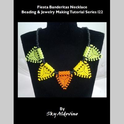 I22 Fiesta Banderitas Necklace