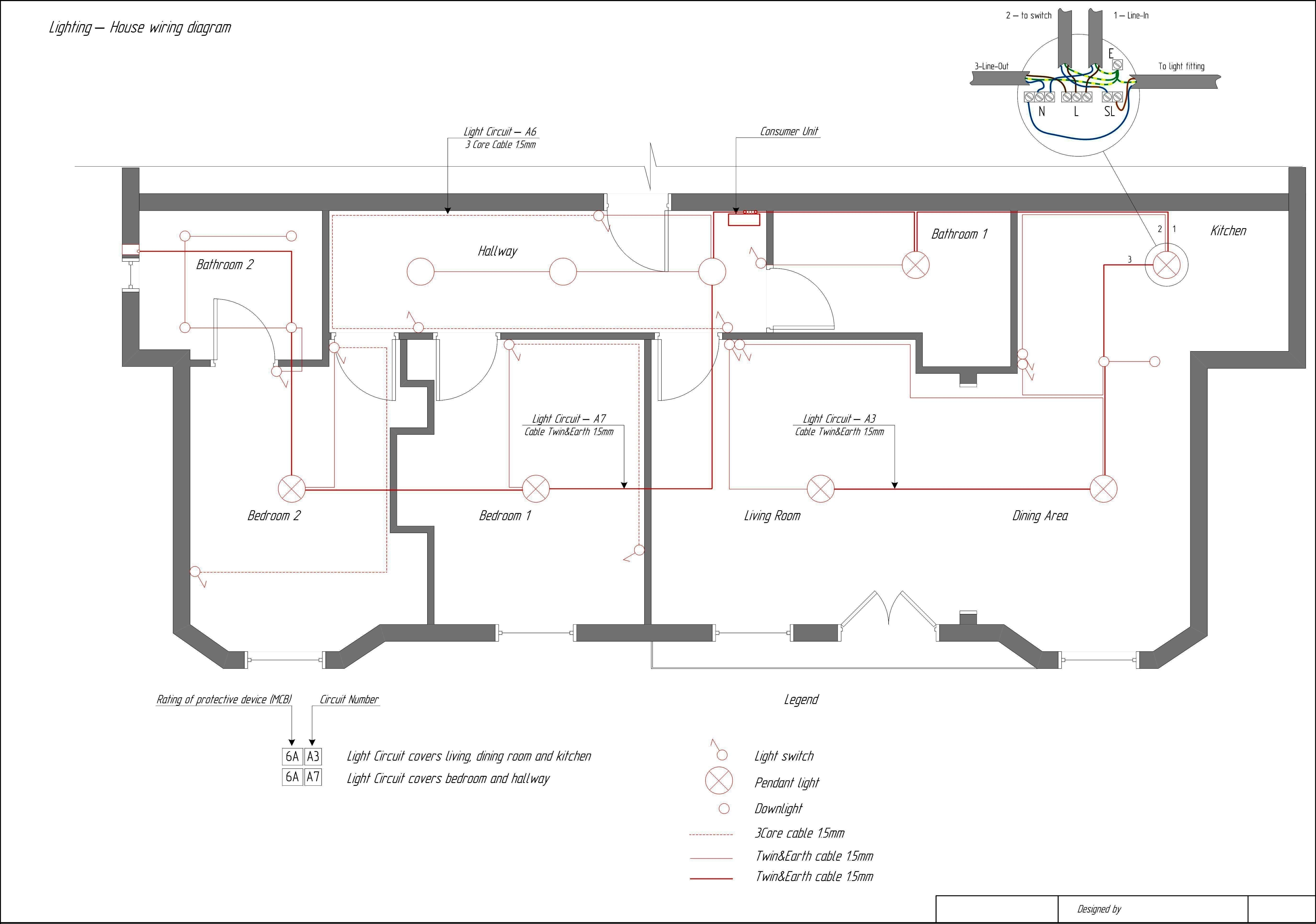 Single Phase Wiring Diagram For House | House wiring, Home ... on light switch piping diagram, light switch cabinet, light switch with receptacle, light switch cover, wall light switch diagram, dimmer switch installation diagram, circuit diagram, light switch timer, light switch power diagram, light switch installation, electrical outlets diagram,