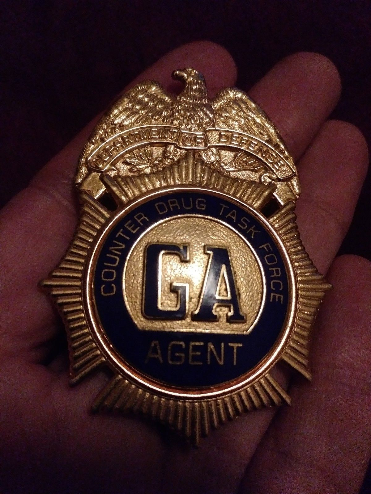 Agent, Counter Drug Task Force Georgia, Department of