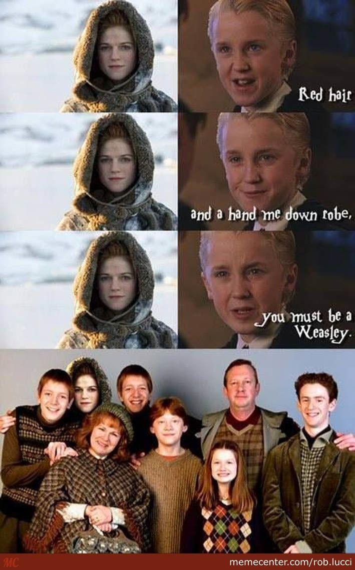 Draco Malfoy Meets Ygritte by rob.lucci - Meme Center
