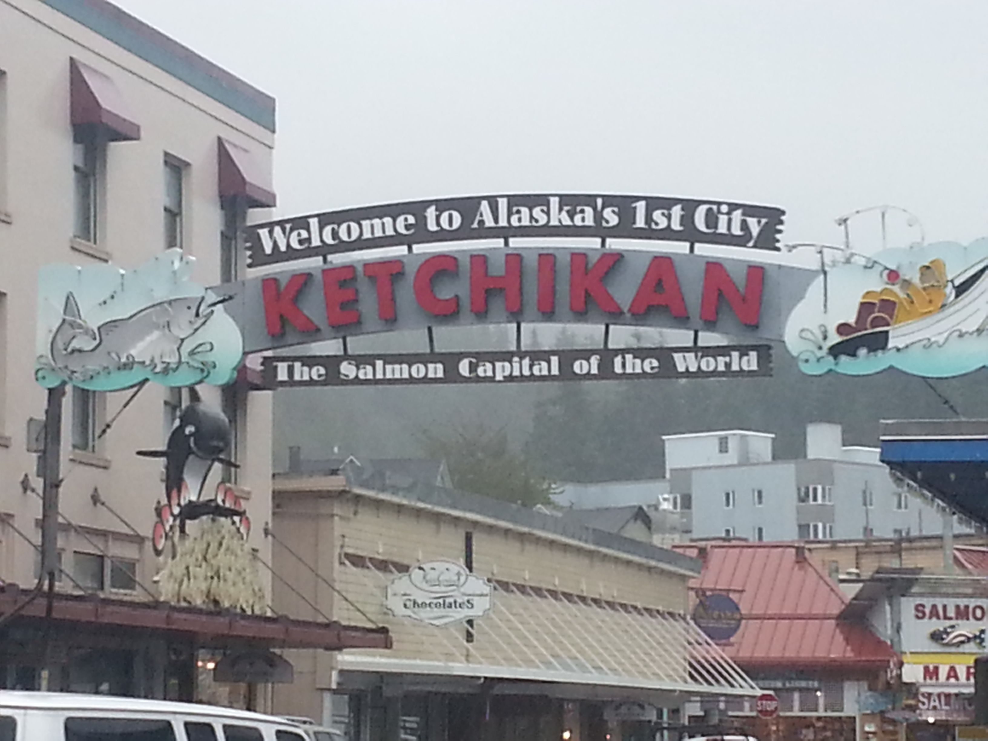 A wonderful little town in Alaska that is often included on Inside Passage cruise itineraries.