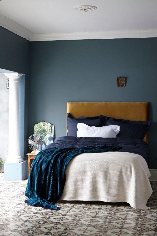 Trend 2018 für Wandfabe Petrol Farbe ist angesagt! Interiors - wandfarben trends schlafzimmer