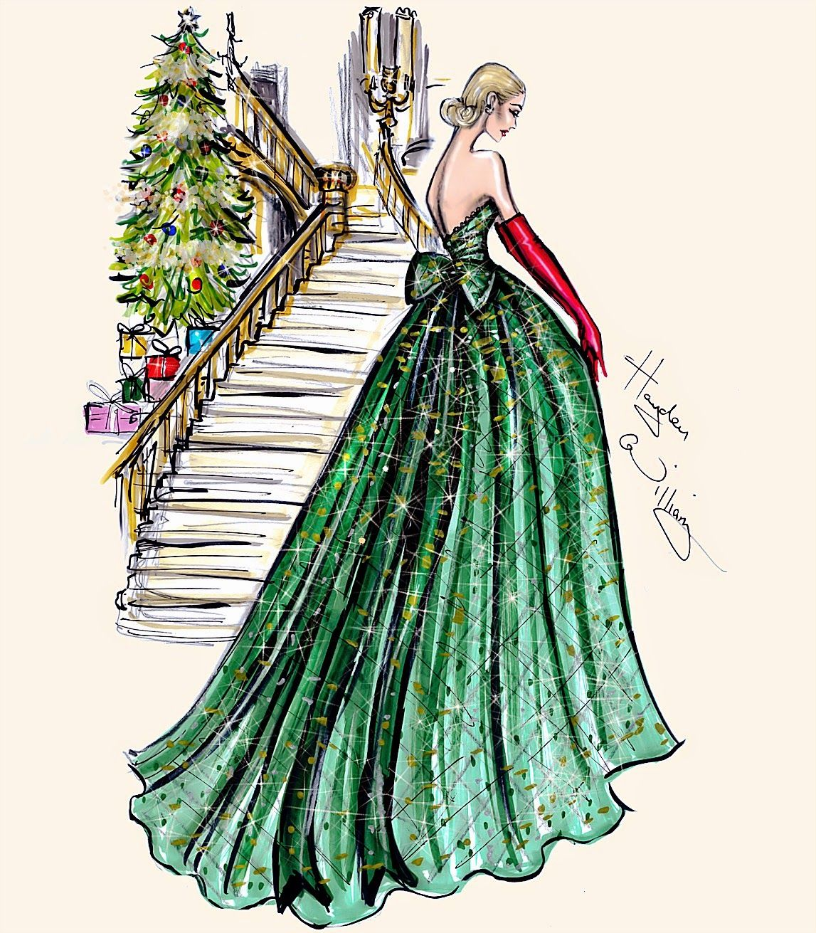 Festive Couture  by Hayden Williams December   ART