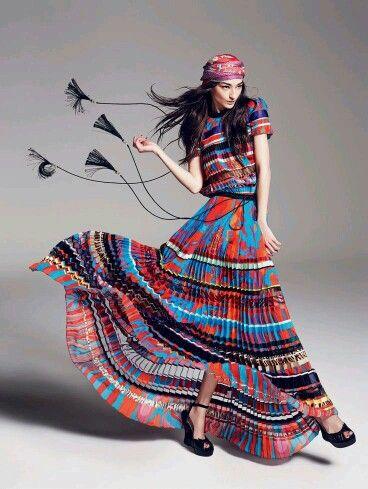 Meu amor eterno por esse vestido!