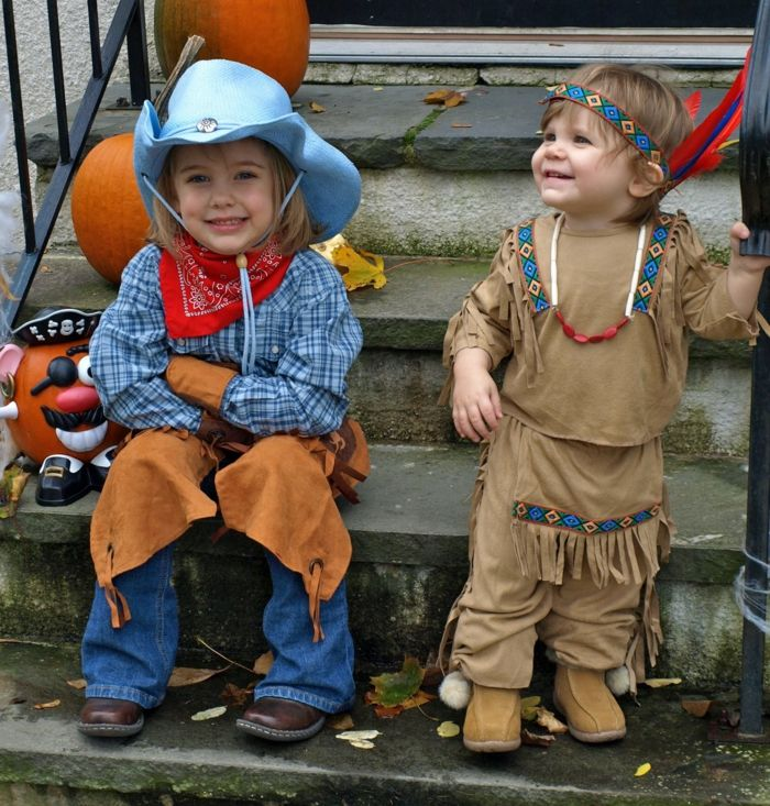 mottoparty ideen cowboys indianer kinderparty geburtstagsparty ...