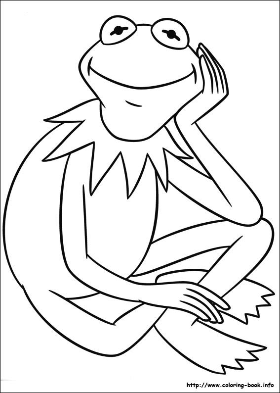 The Muppets coloring picture | Coloring Pages Kids | Pinterest ...