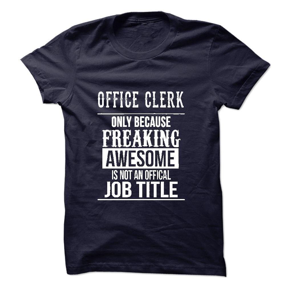 Office Clerk T-Shirt T Shirt, Hoodie, Sweatshirt